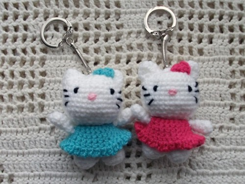 Nog Hello Kitty Sleutelhangers Charamicom