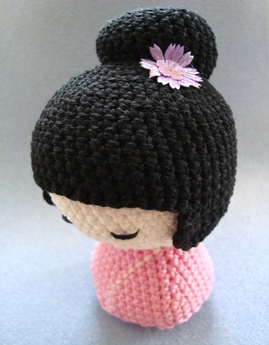 Kokeshi En Amigurumi : Kokeshi Charami.com