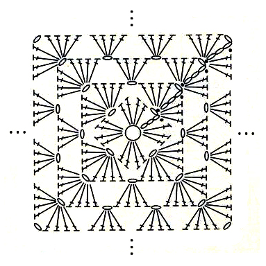 Patroon Knuffeldoekje Charamicom