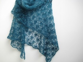 fanalaine's Blue Moon Shawl