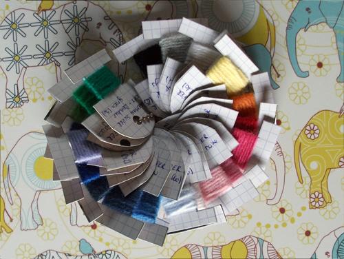 kleur-kaartjes
