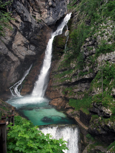 Slovenië 14 - Slap Savica