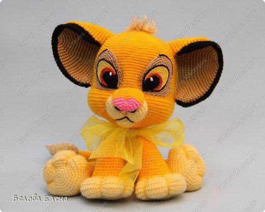 Amigurumi Simba