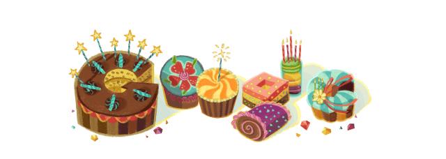 Google-verjaardag